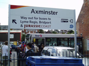 Axminster sign