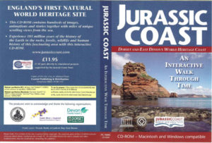 Jurassic Coast CD-ROM Cover