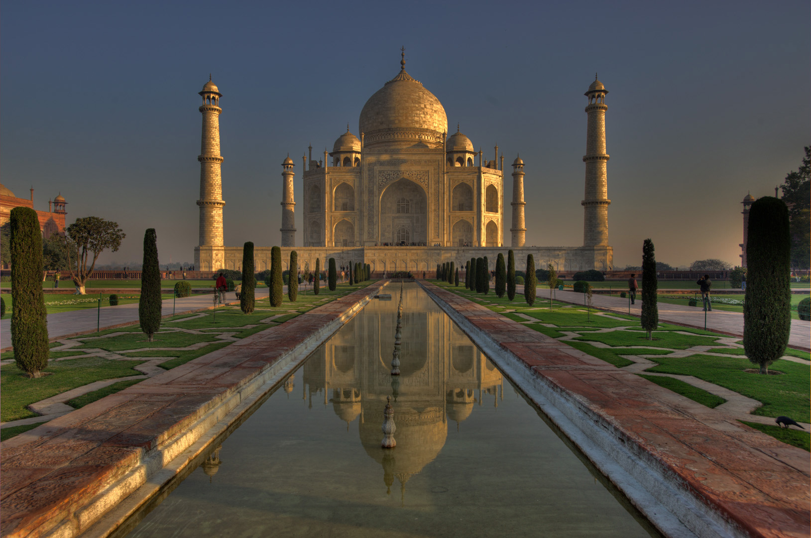 The Taj Mahal was inscripted in 1983. Photo by Louis Vest.