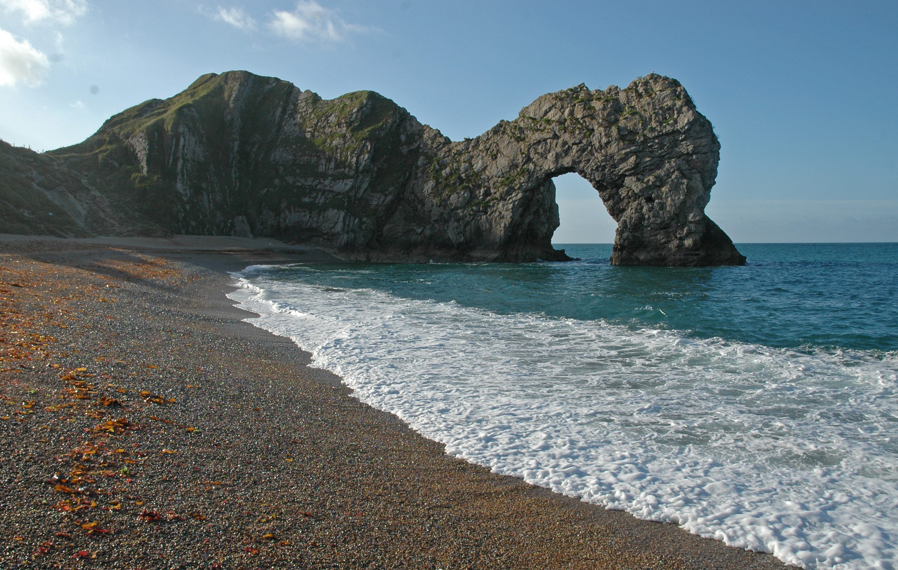 Thousands of us are drawn to iconic coastal landmarks like Durdle Door every year