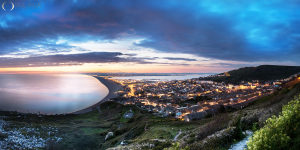 Chesil Beach view from Portland