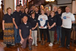 Jurassic Coast Trust Ambassadors at Norburton Hall