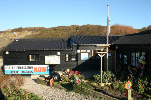The Fine Foundation Marine Centre at Kimmeridge.