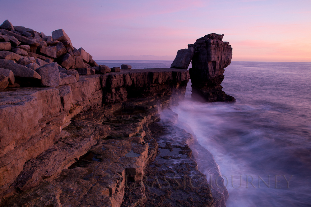 Pulpit Rock on the Isle of Portland