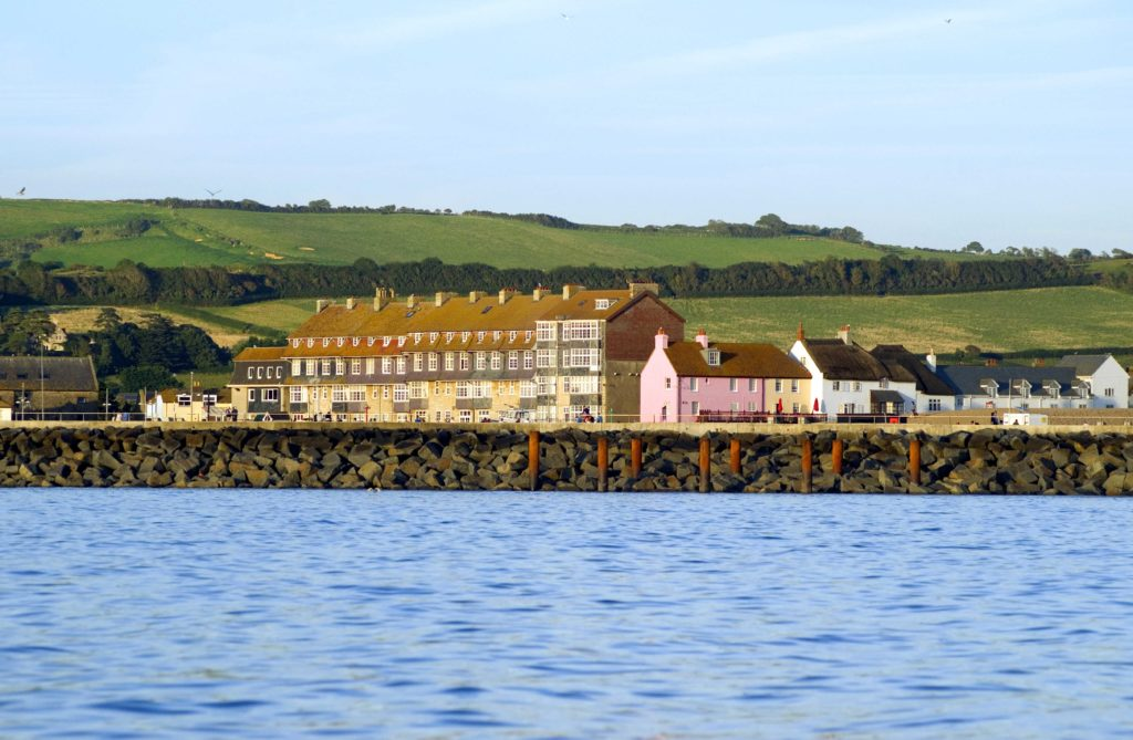 The harbour settlement of West Bay