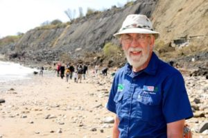 Stuart Godman, Charmouth and Lyme Regis Fossil Warden