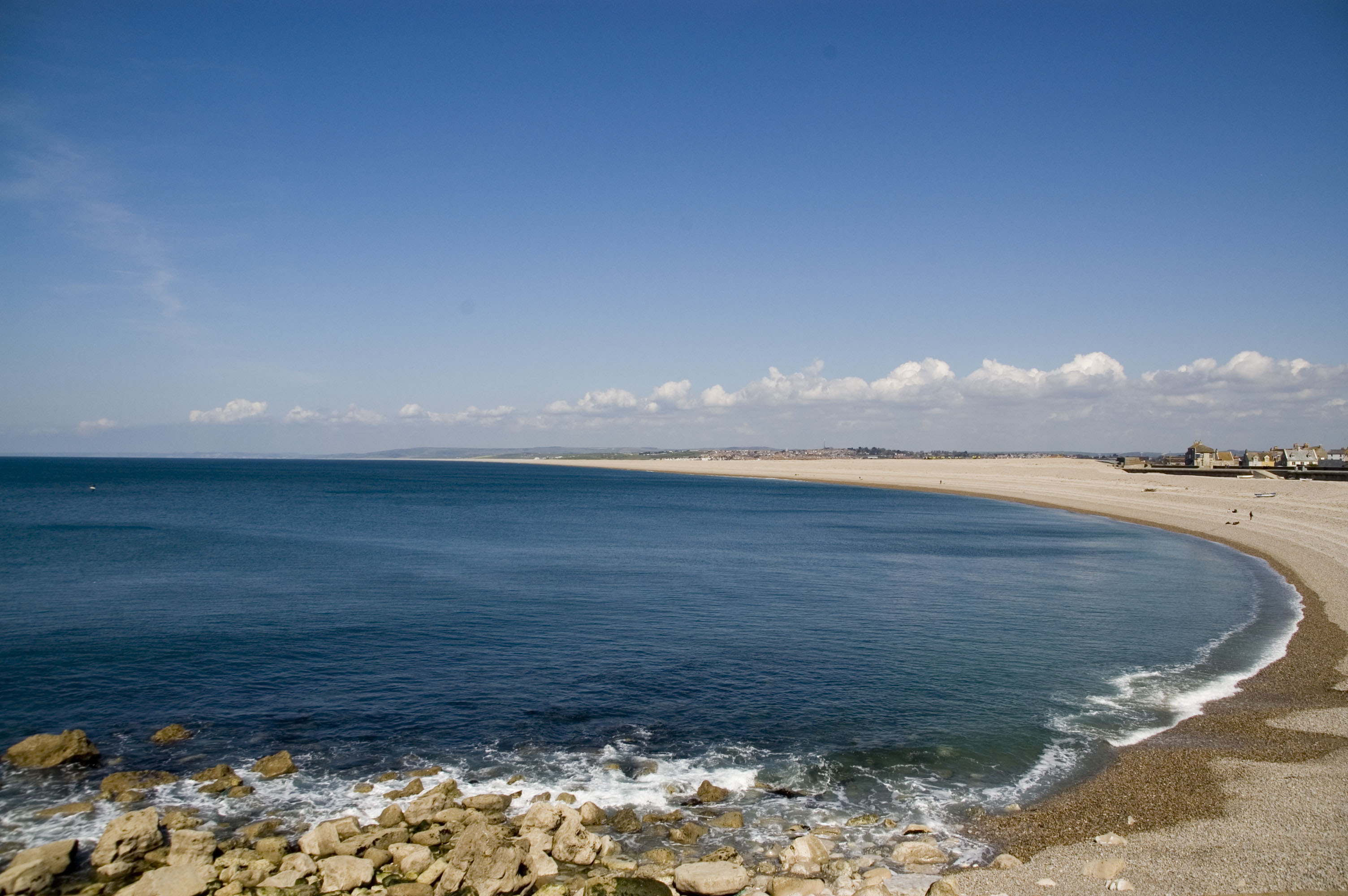 Chesil Beach From Portland