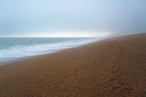 Chesil footprints