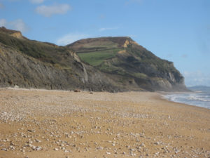 Golden Cap - the highest point on the south coast of England