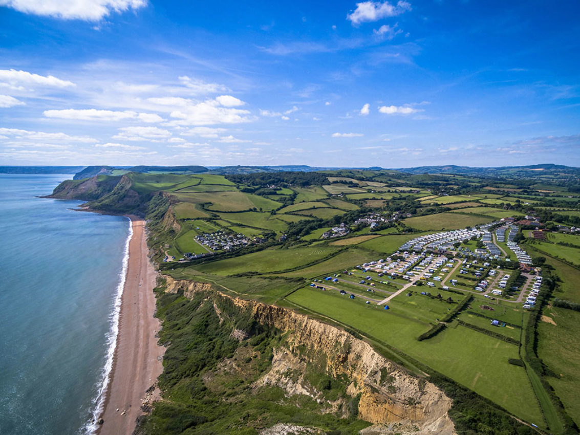 Highlands End Holiday Park in Eype.