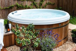 Hedgehog Corner with Hot Tubs