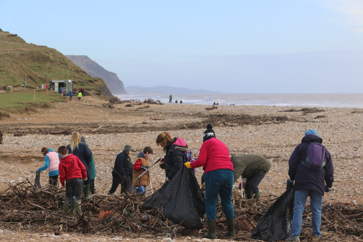 Charmouth Beach Clean
