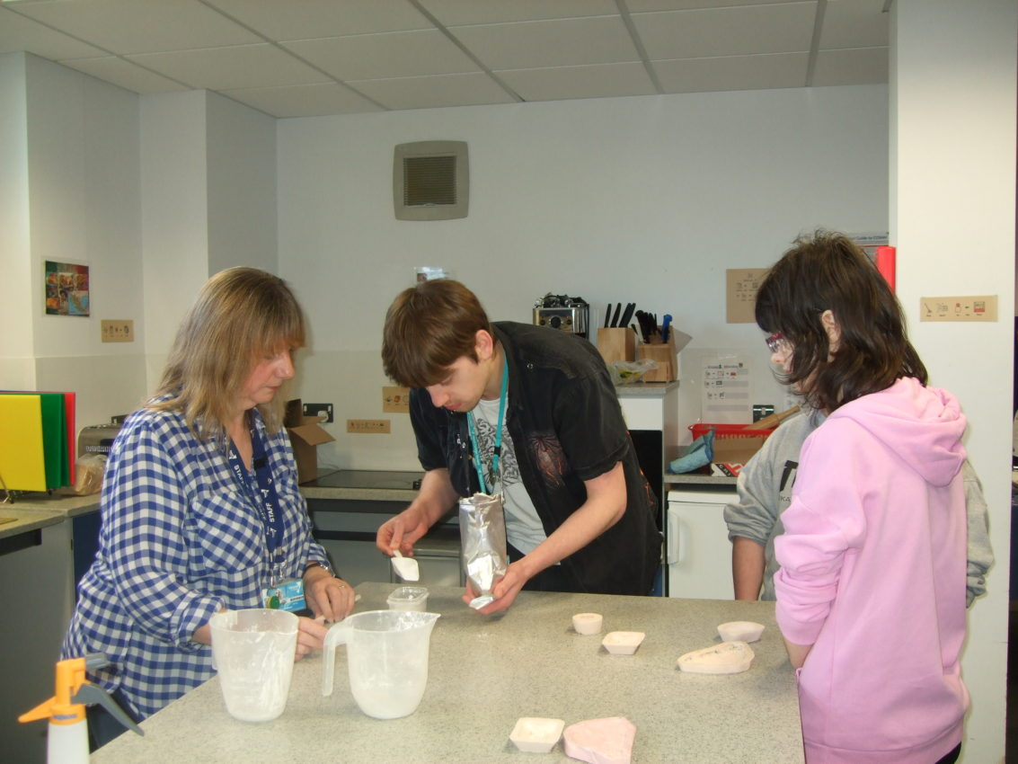 Making Plaster of Paris Fossils