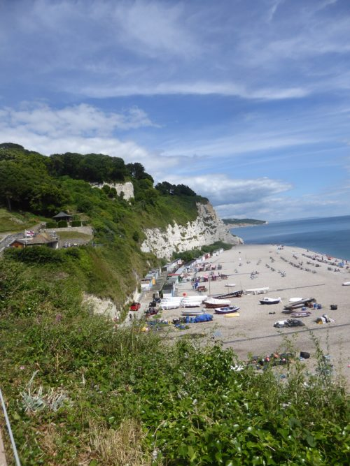 Beer's chalk cliffs