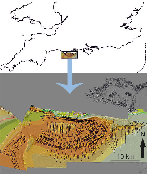 offshore geology map