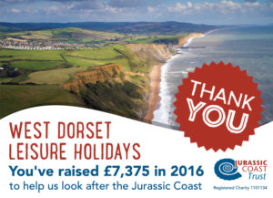 West Dorset Leisure Holidays Thank You