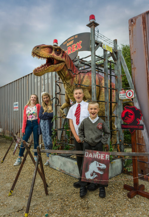 A pair of Jurassic Fantastic events, The Jurassic Egg Hunt and Roarsome Dino Day, are coming to Weymouth this Easter holidays.