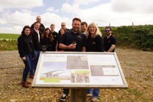 Purbeck Ice cream are partnering with The Jurassic Coast on a new range of ice creams