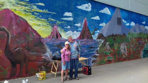 exmouth mural