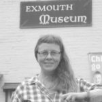 Sarah at Exmouth Museum
