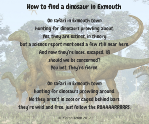 Exmouth Dinosaurs Poem