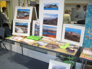 sidmouth science festival lanzarote geopark display