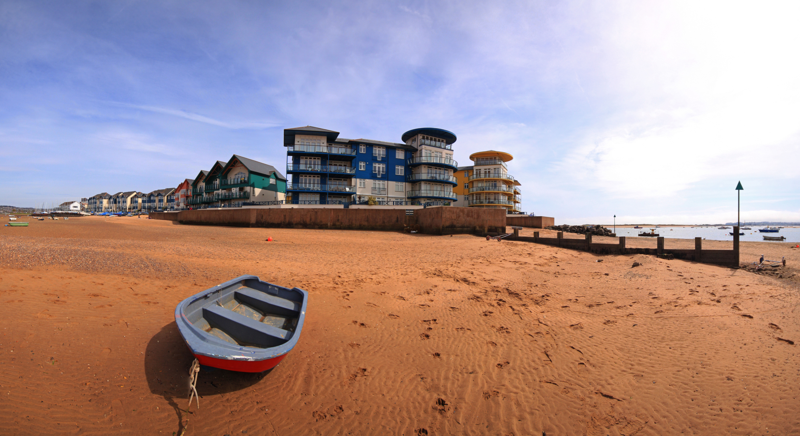New development at Exmouth in Devon UK