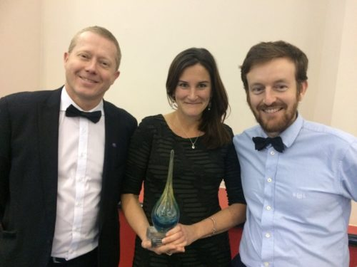 'Outstanding Contribution to Tourism' accolade awarded to the Jurassic Coast team