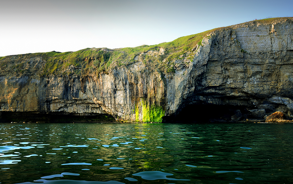 2,000 miles of Jurassic Coast - Green Point, Purbeck