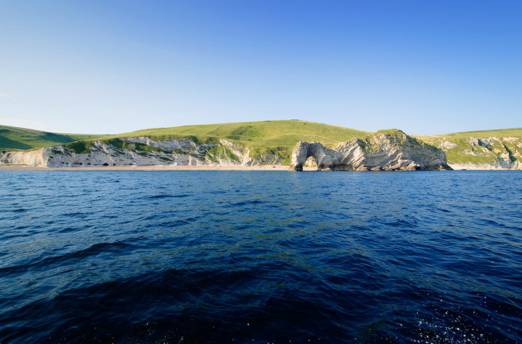 Durdle Door offshore