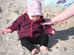 jurassic coast for under 5's sand