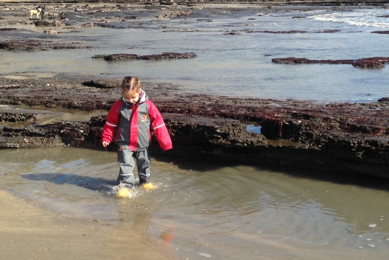 The Jurassic Coast can be an extraordinary playground for your child.