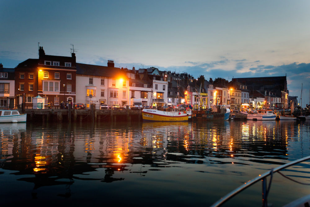 Weymouth Harbour night