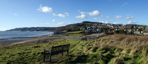 charmouth panorama
