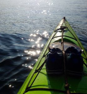 A kayak is often one of the best ways to see the Jurassic Coast in all its glory.