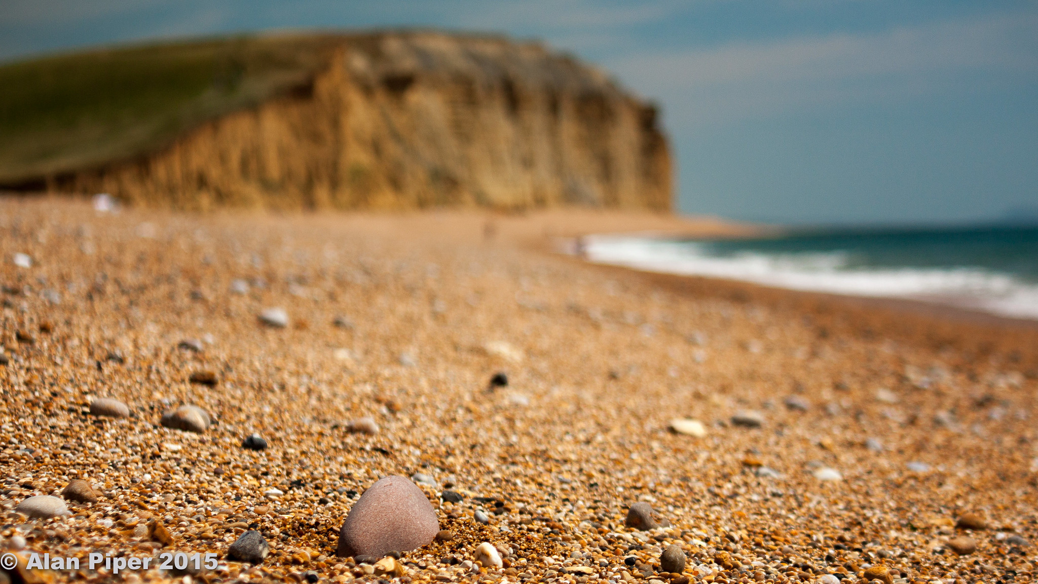 West Bay pebble close-up - Alan Piper