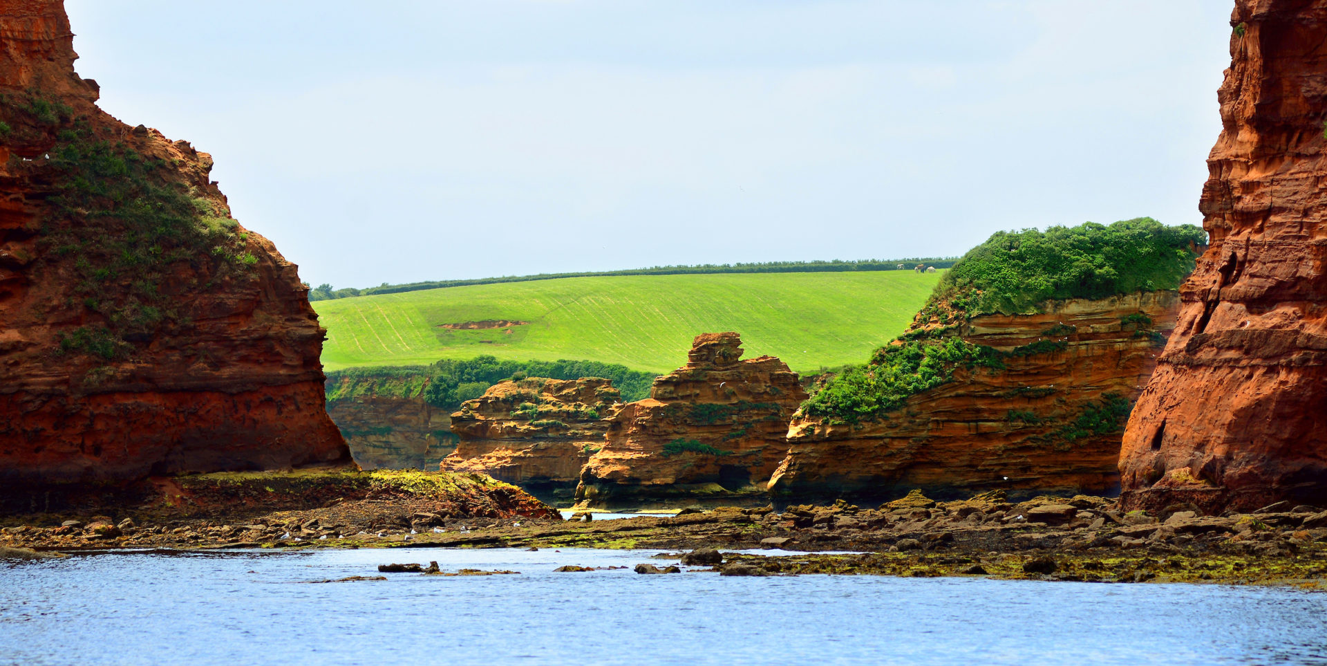 east devon - ladram bay