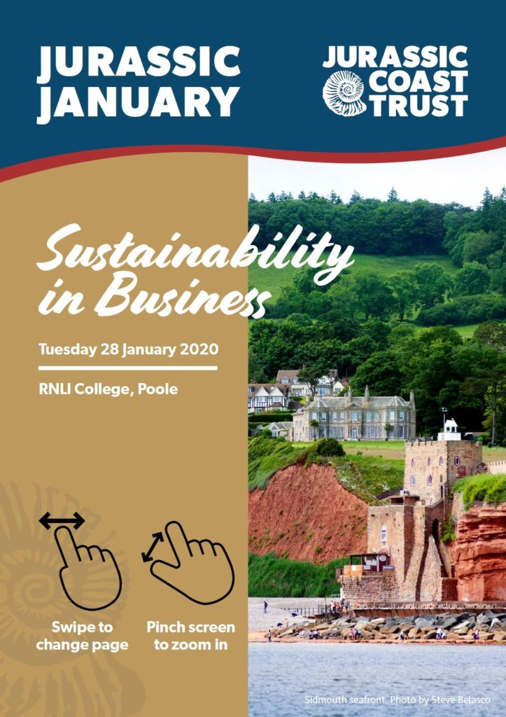 Jurassic January 2020 Brochure front cover