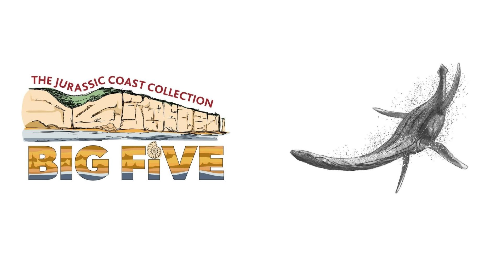 big five logo plesiosaur