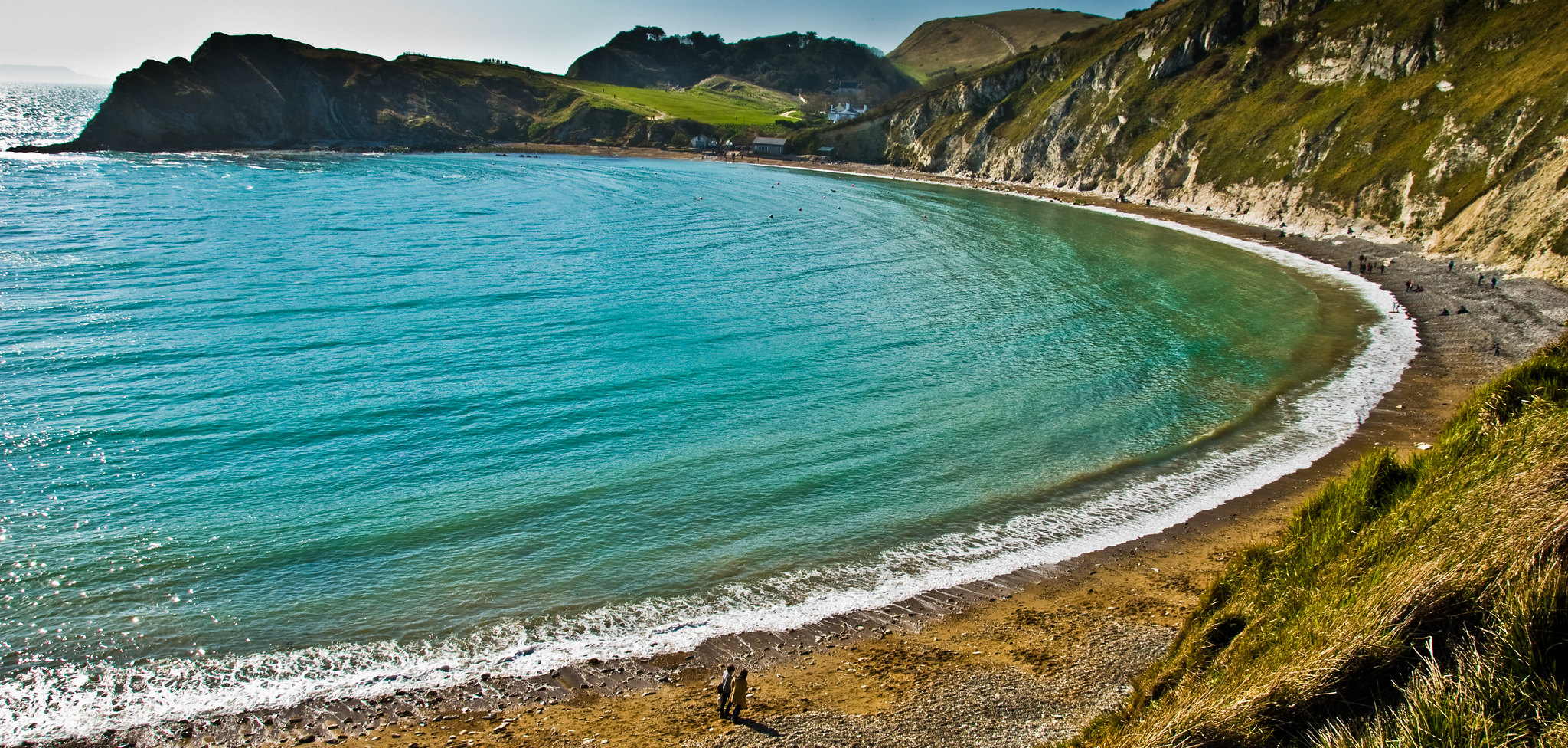 Lulworth Cove side view - Gary Campbell-Hall