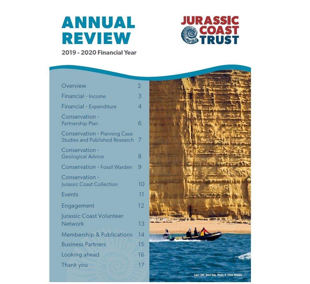 2019-20 Annual Review - front cover