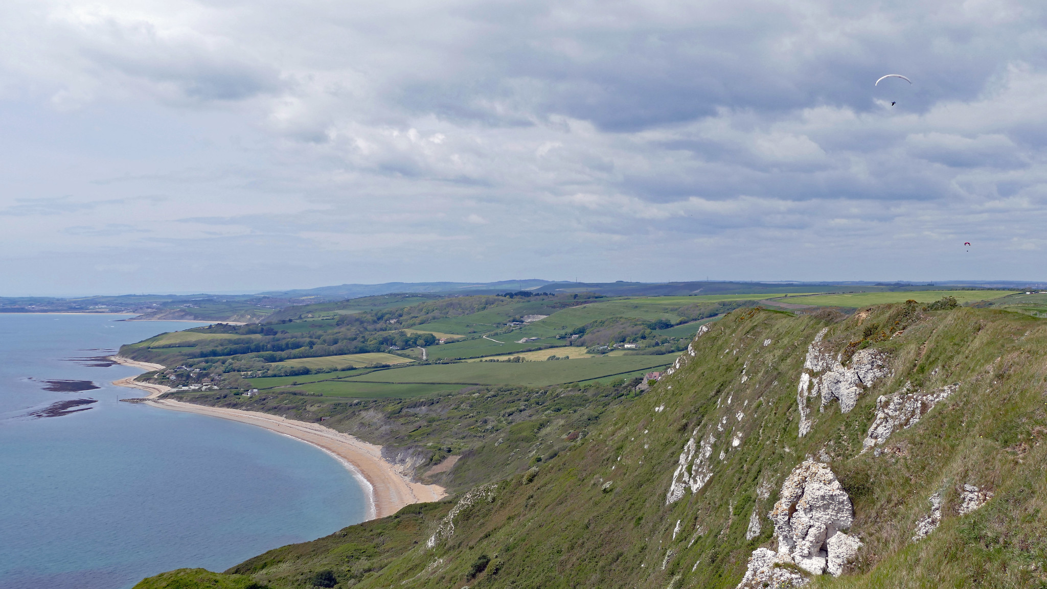 Ringstead Bay from above - Andrew