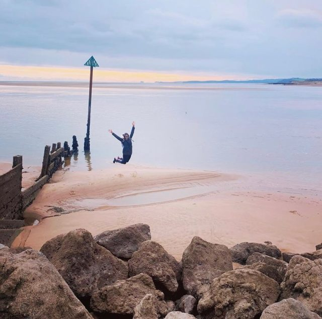 """My Jurassic Coast by @amodernadventure   """"Humble Exmouth is often overlooked when you consider the region's many beaches, but the views are stunning and I'll never get tired of watching the sun set across the estuary.""""  #myjurassiccoast"""